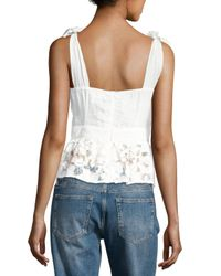 Foxiedox - White Primrose Top - Lyst