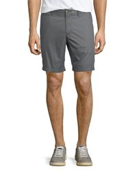 "Original Penguin - Gray P55 8"" Basic Slim Shorts for Men - Lyst"
