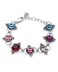 DANNIJO - Multicolor Odell Crystal Choker Necklace - Lyst