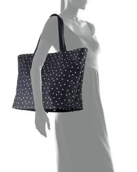 Neiman Marcus - Blue Star Print Tote Bag - Lyst