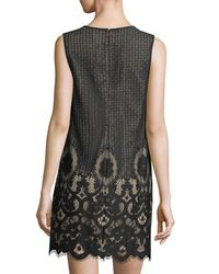 Cece by Cynthia Steffe   Black Rosie Lace Shift Dress   Lyst