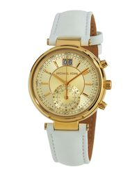 MICHAEL Michael Kors - Metallic 39mm Champagne Chronograph Watch - Lyst