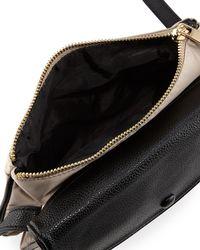 Neiman Marcus - Black Marni Fold-over Nylon Crossbody Bag - Lyst