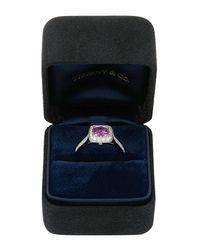 Tiffany & Co - Legacy® Platinum Pink Sapphire & Diamond Ring - Lyst
