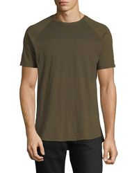 Civil Society - Green Pin Dot Slub Short-sleeve Tee for Men - Lyst