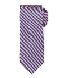 Neiman Marcus - Blue Textured Silk Tie for Men - Lyst