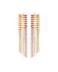 Lydell NYC - Metallic Multicolor Crystal Chandelier Earrings - Lyst