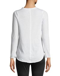 Chaser - White Wine On The Rocks Long-sleeve Graphic Tee - Lyst