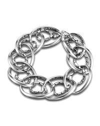 John Hardy - Metallic Kali Interlocking Chain Bracelet - Lyst