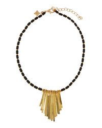 Panacea - Black Beaded -inspired Necklace - Lyst