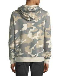 Wesc - Multicolor Men's Mike Camo Spring Fleece Sweatshirt for Men - Lyst