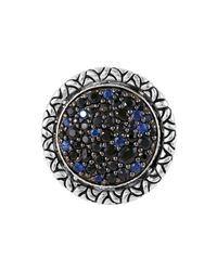 John Hardy | Multicolor Naga Midnight Colorway Round Ring | Lyst