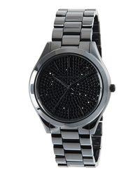 MICHAEL Michael Kors | Black Runway 41mm Ceramic Watch for Men | Lyst