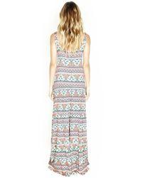 Michael Lauren - Multicolor Graceland Tiered Maxi Dress - Lyst