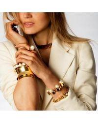 Lele Sadoughi - Metallic Arcade Bracelet - Lyst
