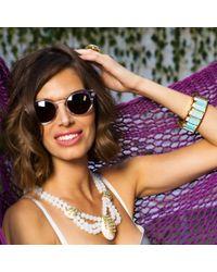 Lele Sadoughi - Multicolor Seashell Necklace - Lyst