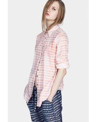 lemlem | Pink Easy Shirt | Lyst