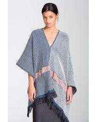 lemlem | Multicolor Tolo Blanket Poncho | Lyst