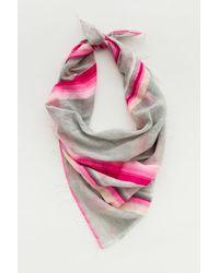 lemlem | Pink Elsi Square Scarf | Lyst