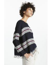 Lemlem | Blue Makari Smock Shirt | Lyst