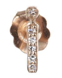 KC Designs - Pink I Single Stud Earring - Lyst