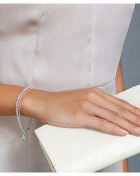 Astley Clarke | Metallic Rose Quartz Heart Biography Bracelet | Lyst