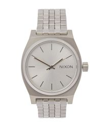 Nixon - Metallic Medium Time Teller Watch - Lyst