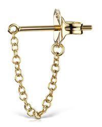 Maria Tash | Metallic Medium 22mm Chain Wrap Earstud | Lyst