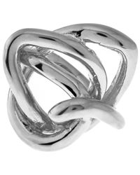 Jennifer Fisher - Metallic Silver-plated Chaos Ring - Lyst