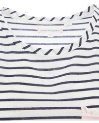 Chinti & Parker - Blue Navy Contrast Pocket Stripe Tee - Lyst