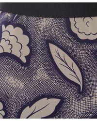 Rachel Comey - Gray Mid Grey Hudson Crosshatch Floral Skirt - Lyst