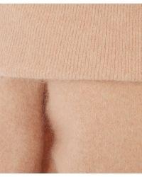 Acne Studios - Pink Daze Off The Shoulder Mohair Jumper - Lyst