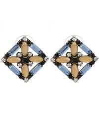DANNIJO | Metallic Sondrio Earrings | Lyst