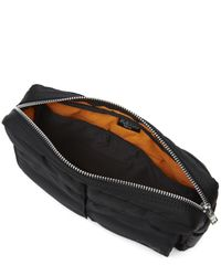 Porter - Black Tanker Waist Bag for Men - Lyst