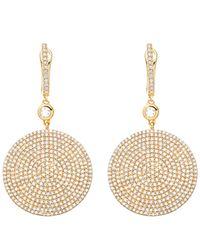 Astley Clarke - Metallic Gold Large Icon Diamond Earrings - Lyst