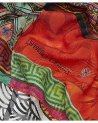 Christian Lacroix - Multicolor Private Collection Silk Jacquard Scarf - Lyst