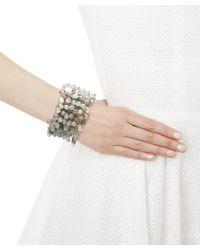 Rosantica - Gray Multi-bead Bracelet - Lyst