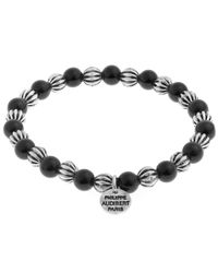 Philippe Audibert - Metallic Bead Bracelet - Lyst