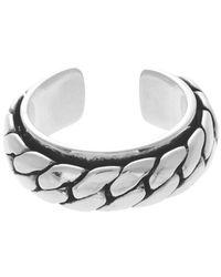 Philippe Audibert - Metallic Chain Ring for Men - Lyst