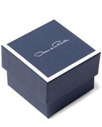 Oscar de la Renta - Metallic Coral Crystal Necklace - Lyst