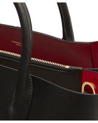 Mansur Gavriel - Black Vegetable-tanned Leather Folded Tote Bag - Lyst