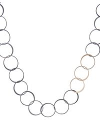 Melissa Joy Manning | Metallic Gold And Silver Chain Necklace | Lyst