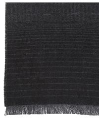 Johnstons - Multicolor Ombre Merino Wool Scarf for Men - Lyst