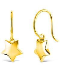 Dinny Hall | Metallic Gold-plated Bijou Star Drop Earrings | Lyst