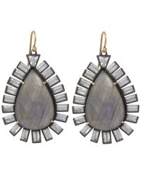 Nak Armstrong | Blue Mixed Gemstone Drop Earrings | Lyst