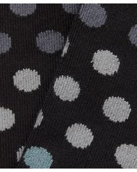 Paul Smith - Black Degrade Polka Dot Socks for Men - Lyst