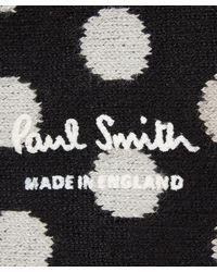 Paul Smith - Black Degrade Polka Dot Socks for Men - Lyst