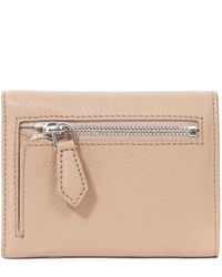 Givenchy | Pink Grained Leather Tri Fold Pandora Wallet | Lyst