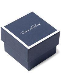 Oscar de la Renta | Blue Beaded Tassel-drop Clip-on Earrings | Lyst