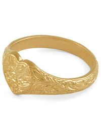 Alex Monroe - Multicolor Gold-plated Crab Diamond Ring - Lyst